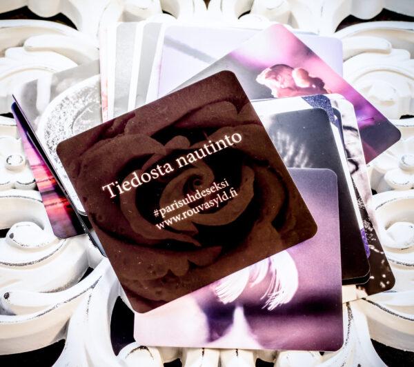 Tiedosta nautinto-terapiakortit avuksi ihmistyön ammattilaisille