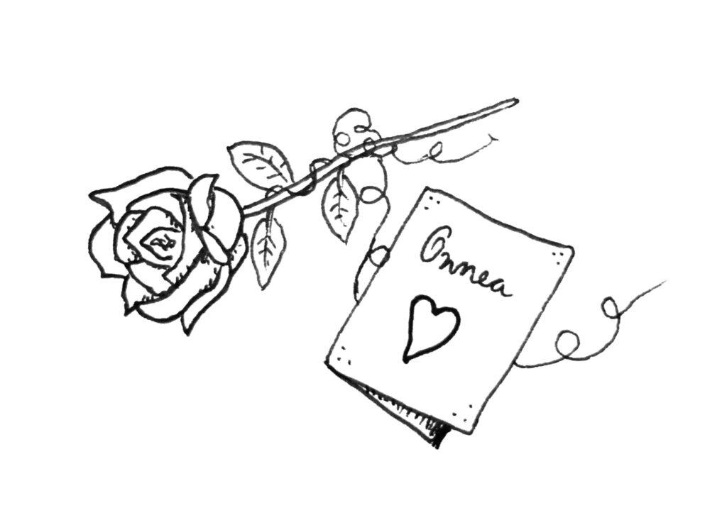 Onnea ruusun ja kortin kera seksuaaliterapeutiksi valmistuneelle