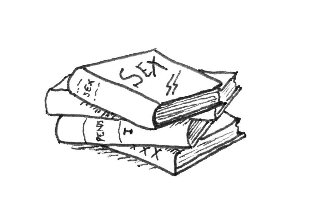 Seksuaaliterapeutin kirjoja